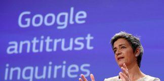 Η Επίτροπος Ανταγωνισμού της Ε.Ε. Μαργκαρέτε Βέσταγκερ